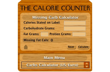Product picture Calorie Counter 4.4