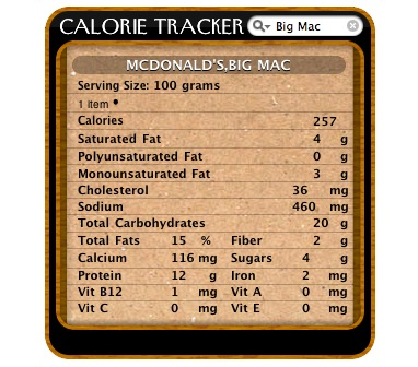 Product picture Calorie Tracker 3.1